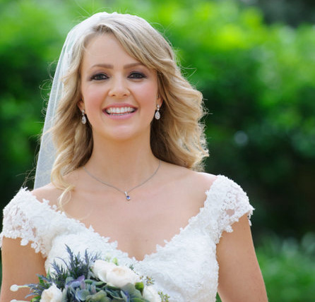 Bridal makeup example by Bella for Makeup