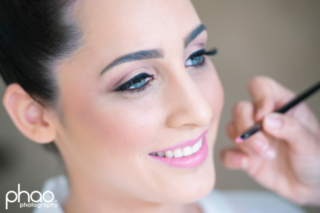 Bridal makeup by Bella For Makeup
