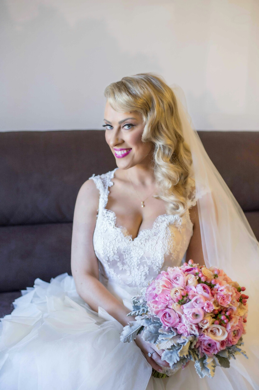 Bridal makeup in Western Sydney by Bella For Makeup
