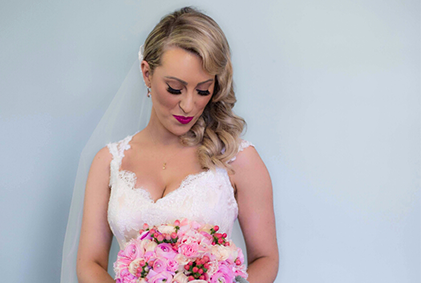 Mobile wedding makeup in Sydney by Bella For Makeup