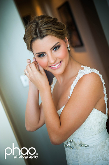Wedding makeup services by Bella For Makeup