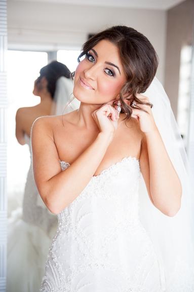Bridal makeup by Bella For Makeup