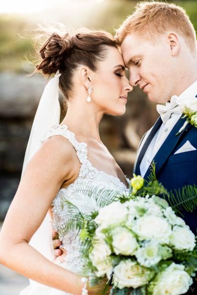 Danika's beautiful bridal makeup done by Bella For Makeup