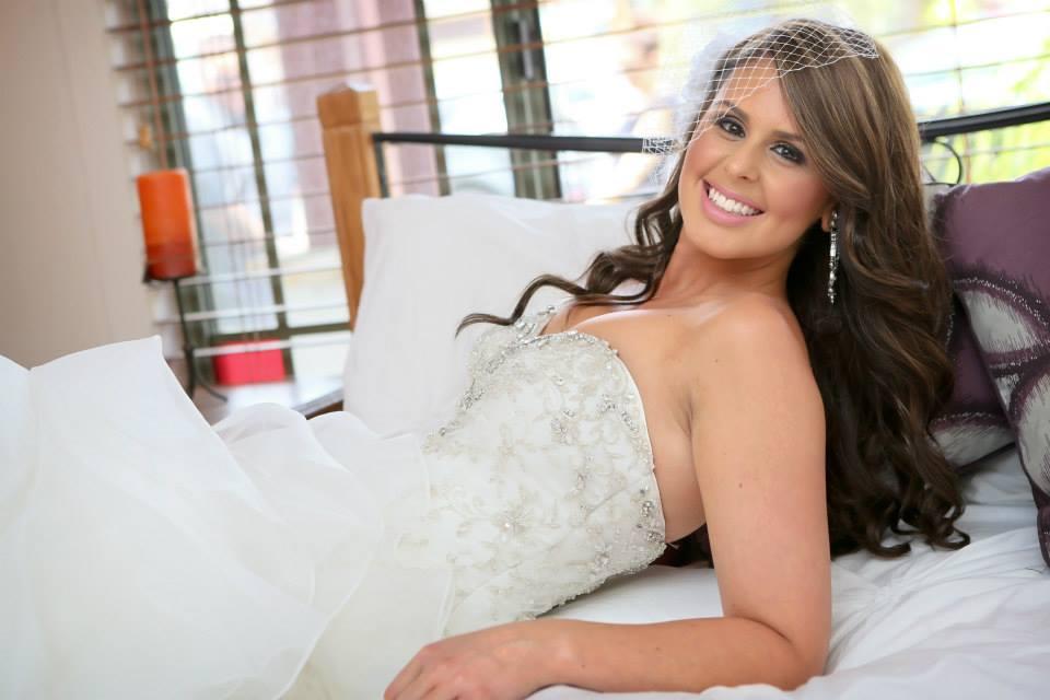 Paige's Bridal makeup by Bella For Makeup